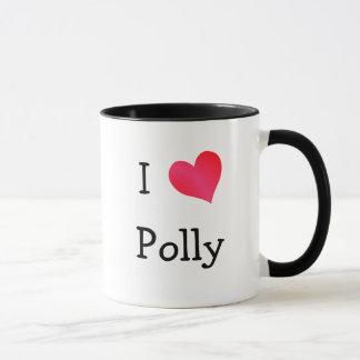 I Love Polly Mug