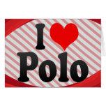 I love Polo Stationery Note Card