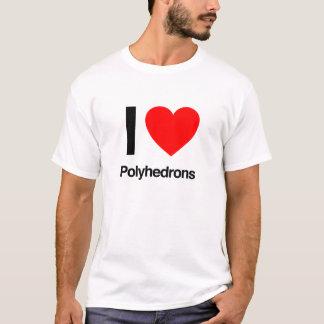i love polyhedrons T-Shirt