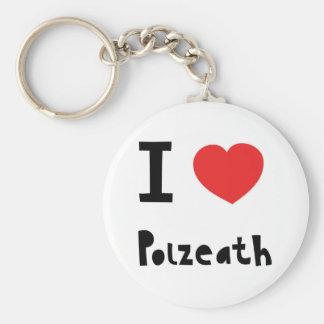 I love Polzeath Keychain