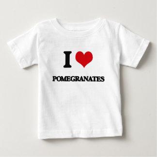 I Love Pomegranates T-shirts