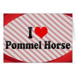 I love Pommel Horse Card