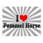 I love Pommel Horse Postcard