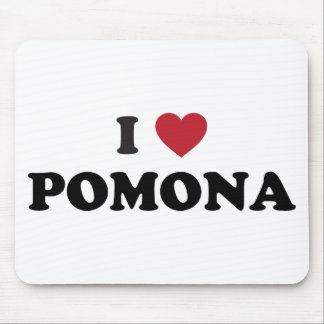 I Love Pomona California Mouse Pad