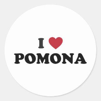I Love Pomona California Sticker