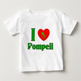 I Love Pompeii Italy Baby T-Shirt