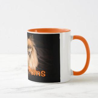 I Love Poms Mug