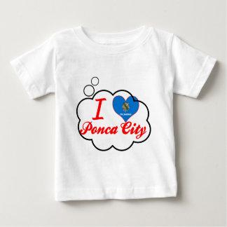 I Love Ponca+City, Oklahoma Tshirts