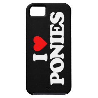 I LOVE PONIES iPhone 5 COVER