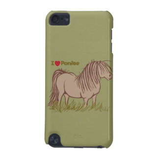 I Love Ponies iPod Touch 5G Case