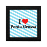 I Love Ponta Grossa, Brazil Jewelry Boxes