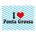 I Love Ponta Grossa, Brazil Post Card