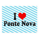 I Love Ponte Nova, Brazil Postcard