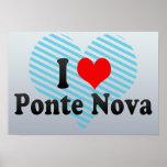 I Love Ponte Nova, Brazil Posters
