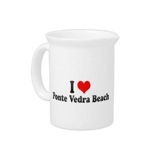 I Love Ponte Vedra Beach, United States Pitchers
