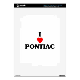 I love Pontiac iPad 3 Decals