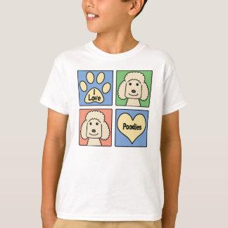 I Love Poodles T-Shirt