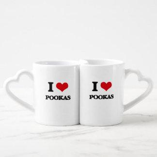 I love Pookas Couples' Coffee Mug Set