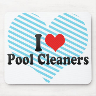 I Love Pool Cleaners Mouse Pad