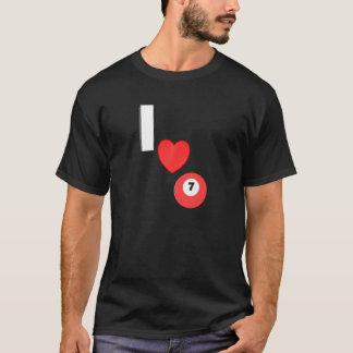I Love Pool T-Shirt