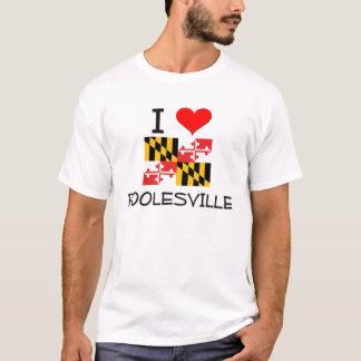I Love Poolesville Maryland T-Shirt