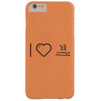 I Love Pools Barely There iPhone 6 Plus Case