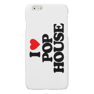 I LOVE POP HOUSE GLOSSY iPhone 6 CASE