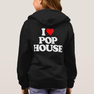 I LOVE POP HOUSE HOODIE