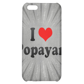 I Love Popayan, Colombia iPhone 5C Cover