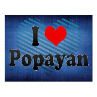 I Love Popayan, Colombia Postcards