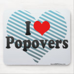 I Love Popovers Mouse Pad