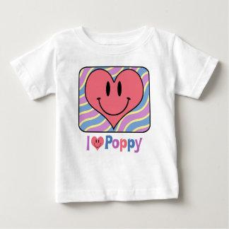 I Love Poppy Infant T-shirt