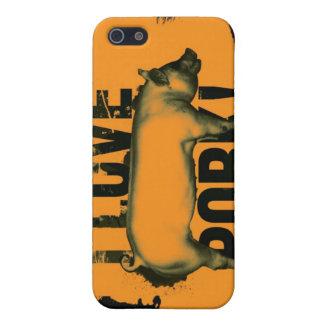 I love pork iphone G4 Case