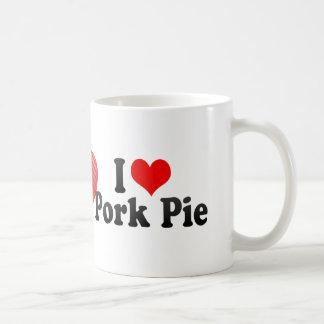 I Love Pork Pie Coffee Mug