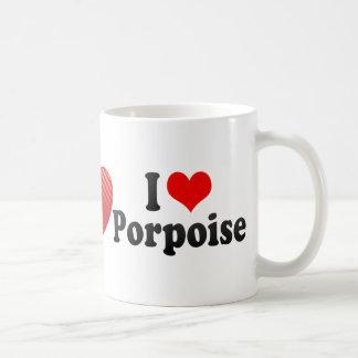 I Love Porpoise Mug
