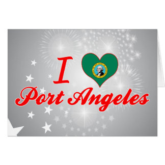 I Love Port Angeles, Washington Greeting Card