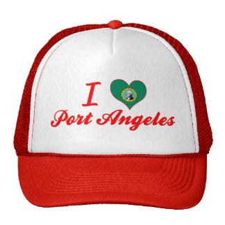 I Love Port Angeles, Washington Trucker Hat