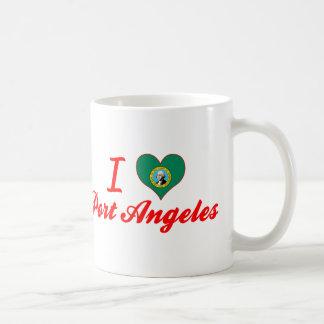 I Love Port Angeles, Washington Classic White Coffee Mug