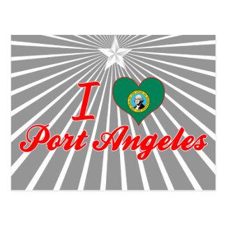 I Love Port Angeles, Washington Postcard