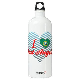 I Love Port Angeles, Washington SIGG Traveler 1.0L Water Bottle