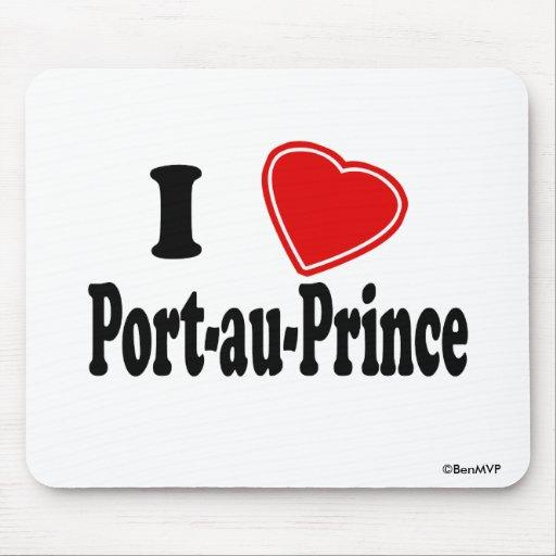 I Love Port-au-Prince Mouse Pad