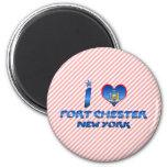 I love Port Chester, New York Magnet