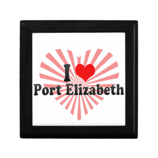 I Love Port Elizabeth, South Africa Trinket Boxes