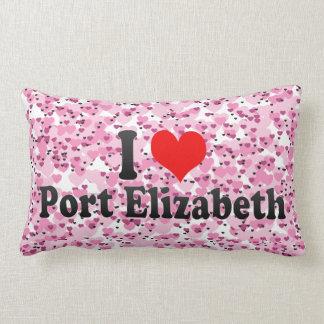 I Love Port Elizabeth, South Africa Pillows