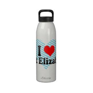 I Love Port Elizabeth, South Africa Reusable Water Bottles