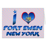 I love Port Ewen, New York Card