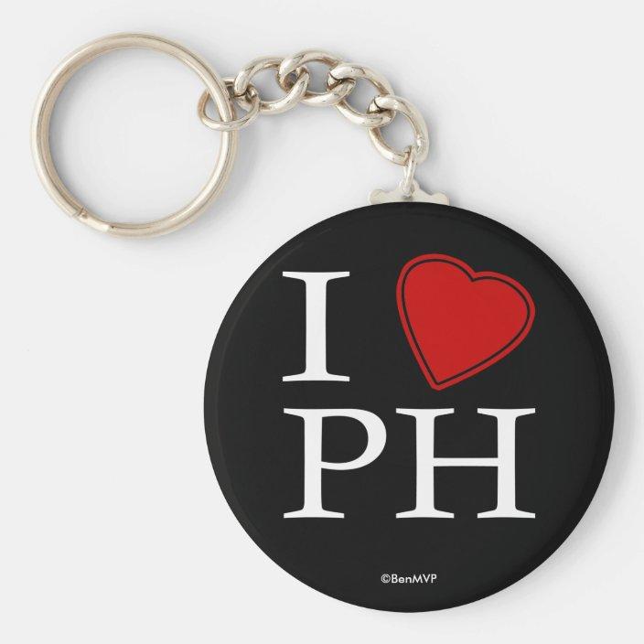I Love Port Harcourt Keychain