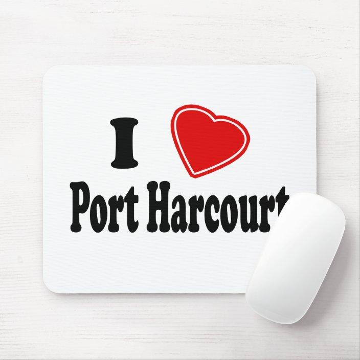 I Love Port Harcourt Mouse Pad