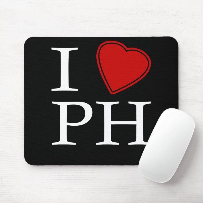 I Love Port Harcourt Mousepad