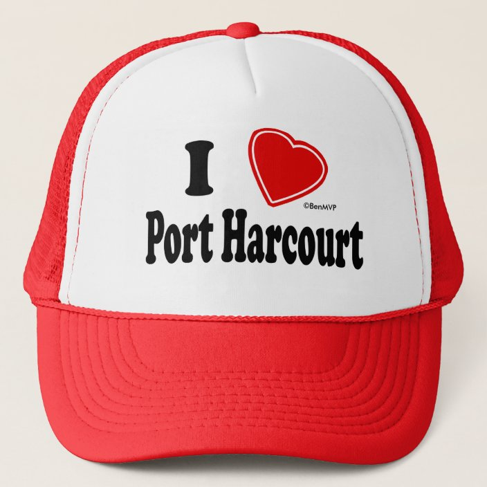 I Love Port Harcourt Trucker Hat